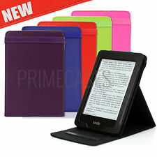 SMART LEATHER CASE COVER WITH FLIP STAND FOR NEW AMAZON KINDLE PAPERWHITE