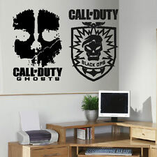 LARGE X BOX XBOX LIVE ONE PS3 PS4 CALL OF DUTY COD WALL ART STICKERS