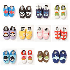 New Baby Infant Newborn Soft Sole Faux Leather Boy Girl Unisex Shoes