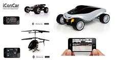 iCon Bluetooth Wireless Iphone Ipad Android Remote Control Helicopter Car