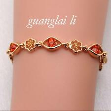 14K Gold Filled hand chain 7 different colors Brace lace lady's chain bracelet