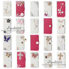 New Style Bling Diamond Wallet PU Leather Case For Sony Xperia C S39h C2305 a