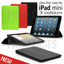 Folio Thin Smart Pu Leather Case Cover With Triangle Stand For Apple iPad Mini