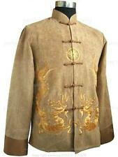 Handsome Chinese style men's kung fu Jacket/Coat SZ: M-XXXL