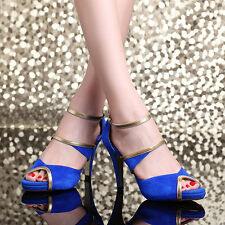 New Women Sandals High Heel stiletto Peep Toe Ankle Strap Pumps Hollow Out Shoes