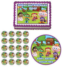 SUPER WHY  Edible Cake Topper Cupcake Image Decoration Birthday Party