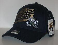 Mens Adidas Notre Dame Fighting Irish BCS Bowl S Florida Bound Hat Navy Blue NWT