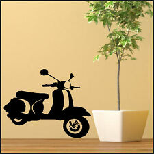 LARGE VESPA WALL STICKER MOD MODS MURAL ART NEW UK TRANSFER SAME DAY DESPATCH
