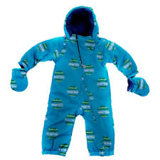 unisex-baby Puma Kid's Winter Babies Snow Overall Jumpsuit Fleece Lined Onesie B