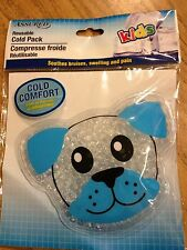 KIDS COLD PACK COMPRESS - GREEN SEAHORSE - REUSABLE - NEW IN PACKAGE