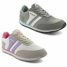 Ladies Gola Lace Up Retro Sports Walking Running Trainers Womens Sneaker Shoes