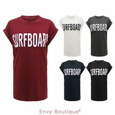 SURFBOARD T-SHIRT CELEBRITY BEYONCE FLAWLESS YONCE JELOUS HAUNTED WOMENS TOP