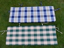 Replacement Swing Seat Cushion For 3 Seater / 2 Seater Garden Swingseat 128x48x5