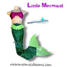 Little Mermaid Swimmable and walkable Mermaid tail. Monofin included. Unique