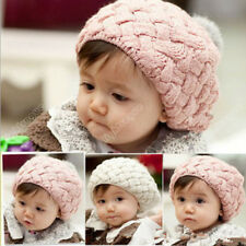 Top Xmas Kid's Cute Baby Infant Toddler Winter Warm Knit Beanie Hat Cap 0019