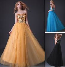Grace Karin Hot Strapless Bright Bridesmaid Gown Prom Evening Masquerad Dress JS