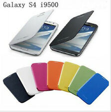 10 Colors New PU Leather Flip Cover Case For Samsung Galaxy S4 S IV i9500 mc445