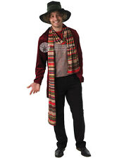 Adult Dr Who 4Th Doctor Tom Baker Outfit Fancy Dress Costume Mens Gents Male