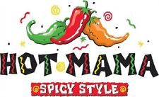 Hot Mama T Shirt Spicy Style Milf Sexy Mother Mom Wife Peppers Love Arm Candy