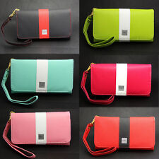 Deluxe Rainbow Wallet Leather Case Bag For T-Mobile LG Optimus G2x 2x P999 P990