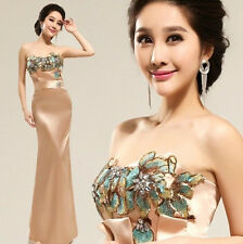 FZ080 Fashion New Formal Wedding Prom Party Dress Bridesmaid Dresses Ball gown