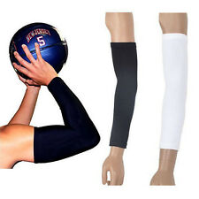NEW 1 Arm Sleeves Cover Sun Armband Skin Protection Sports Stretch Basketball