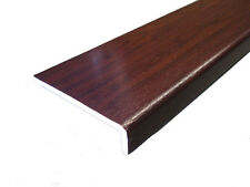 2 x 2.5m Rosewood Upvc 9mm thick Clad Over Fascia Boards **various widths**