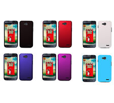 Hard Rubberized Matte Snap-On Slim Cover Case for LG Optimus L90 Dual / D410