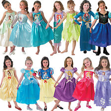 DISNEY STORYTIME Classic Princess Fancy Dress Costume Ragazza Libro Settimana con licenza
