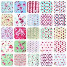 ALL NEW 100% COTTON VINTAGE CHIC FLORAL FABRIC MATERIAL by the metre