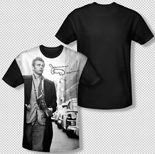 James Dean New York City Walk Signature All Over Front Sublimation T-shirt Top