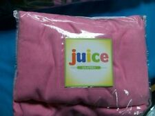 """JCPenney JUICE MICROSUEDE PINK Curtains Drapery Pair 84"""" TAB TOPS Great for Kids"""