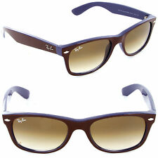 Ray-Ban RB 2132 874/51 New Wayfarer Top Brown on Blue / Brown Gradient