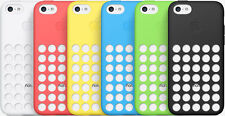GENUINE APPLE IPHONE 5C CASE COVER DOT SILICONE 100% OFFICIAL BRAND NEW