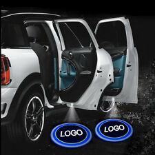 Wireless Car Logo Door Decoration Light Ghost Shadow LED Welcome Laser Projector