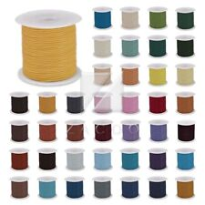1 Roll 10m Real Round Leather Cord Thong 1/1.5/2/3mm DIY Jewelry Bracelet Making