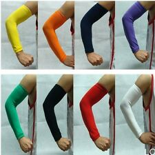 New One Arm Sleeve Cover Sun Armband Skin Protection Sport Stretch Basketball