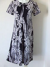Travel Knit Dress, Long A-Line Short slv, NEW, stretchy wash&wear poly/span #796