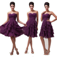 Cheap Sale Girls Tiered Birthday Graduation Formal Party Banquet Evening Dress