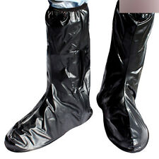 Waterproof Rain Shoes Cover High-Top Thicker non-slip bottom Riding PVC Overshoe