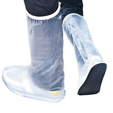 Waterproof Rain Shoes Cover High-Top Boots Men for Motorcycle Bicycle Riding