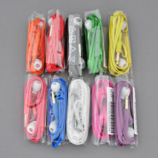 New 3.5mm Handsfree Earphone Headset W/ Mic Volume Control for Cell Phones