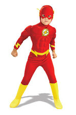 DC Comics Justice League The Flash Superhero Muscle Chest Deluxe Child Costume