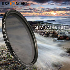 Slim Fader Adjustable Variable ND2 ND400 Filter Neutral Density For Canon Nikon