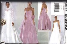6388 UNCUT Vintage Butterick SEWING Pattern Misses Fitted Lined Dress Jacket OOP