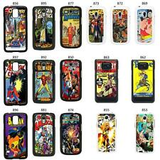 DC MARVEL COMIC BOOK COVER CASE FOR SAMSUNG GALAXY S2 S3 S4 S5 - MINI & MORE No2