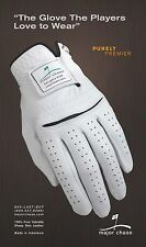 Cabretta Leather Golf Gloves 100 % Sheep Skin Med. Lg. Lot of 4. Logos may vary.