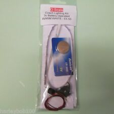 O Scale Coach / Carriage Battery Operated Lighting Kit with On/Off Switch