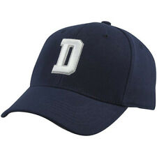 "Dallas Cowboys MENS Fitted Flex Fit Hat Cap ""D"" NAVY"
