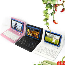 """7"""" Android 4.2 Tablet 16GB Dual Core Camera Flashlight A231.5GHz Blue + Keyboard"""